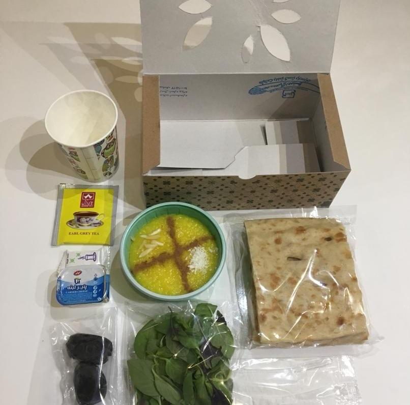 خرید اینترنتی بسته افطاری مهمانو