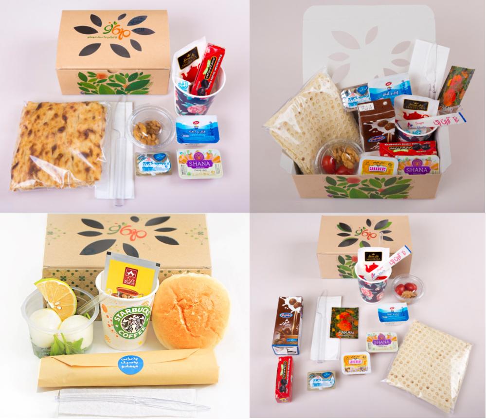 بسته های پذیرایی صبحانه را آنلاین از مهمانو سفارش دهید