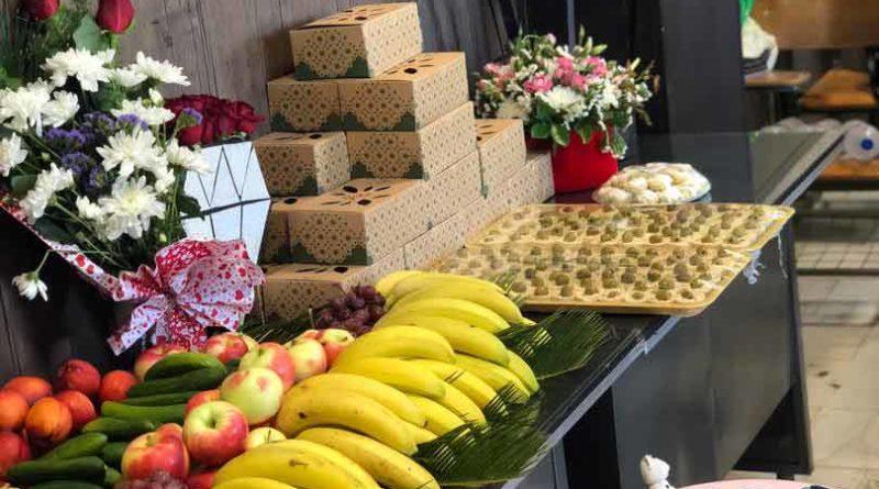 میوه مراسم فروشگاه اینترنتی مهمانو
