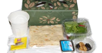 توزیع بسته افطاری ساده