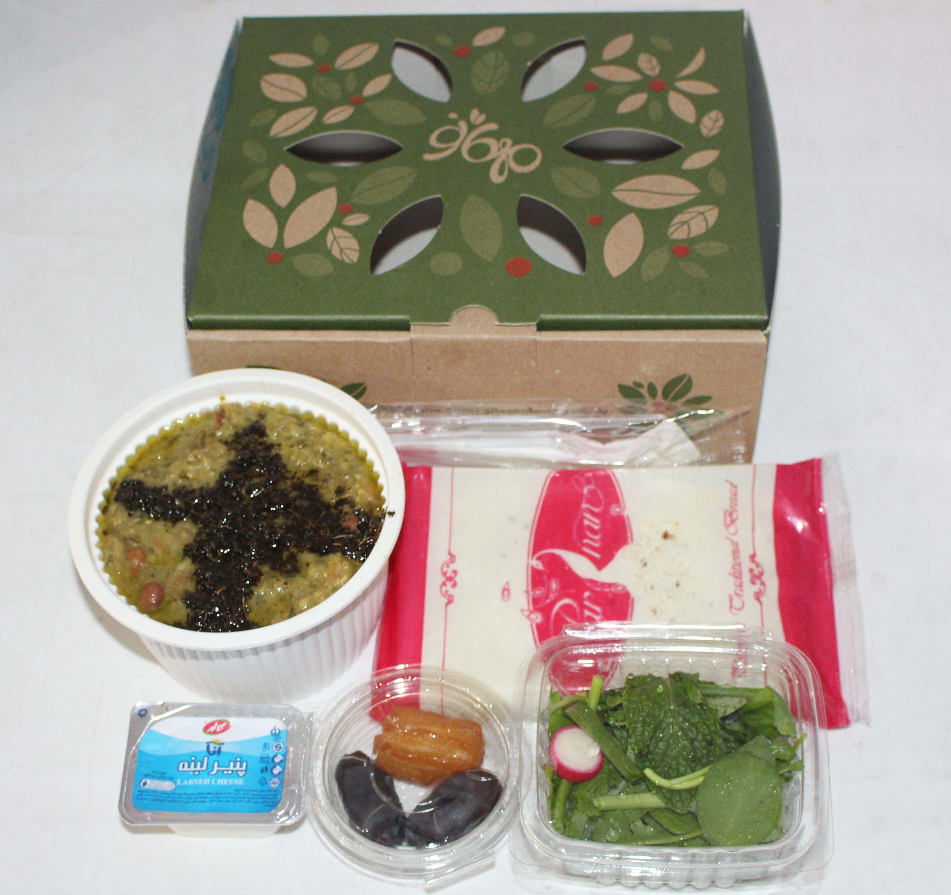 خرید آنلاین پک افطار ساده با قیمت مناسب
