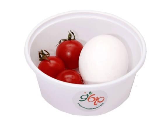 تخم مرغ آبپز صبحانه ادرای را از ما تامین کنید