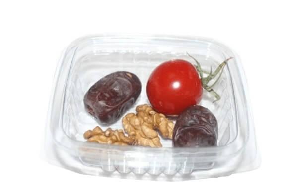 پک گردو و گوجه و خرما صبحانه شرکتی