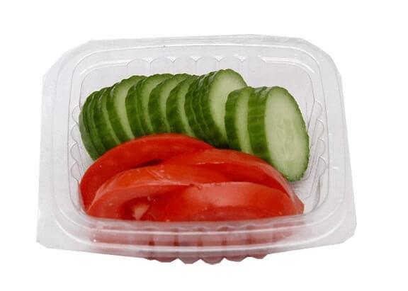 پک خیار و گوجه