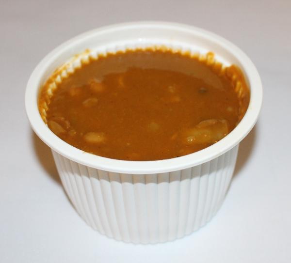 عکس خوراک لوبیا با قارچ